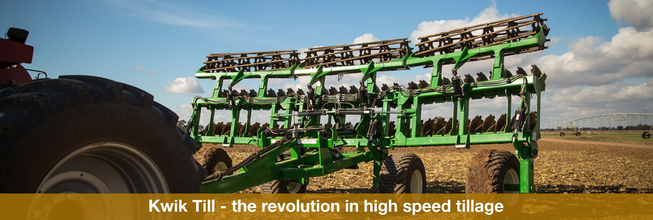 Eagle i Kwik Till – the revolution in high speed tillage
