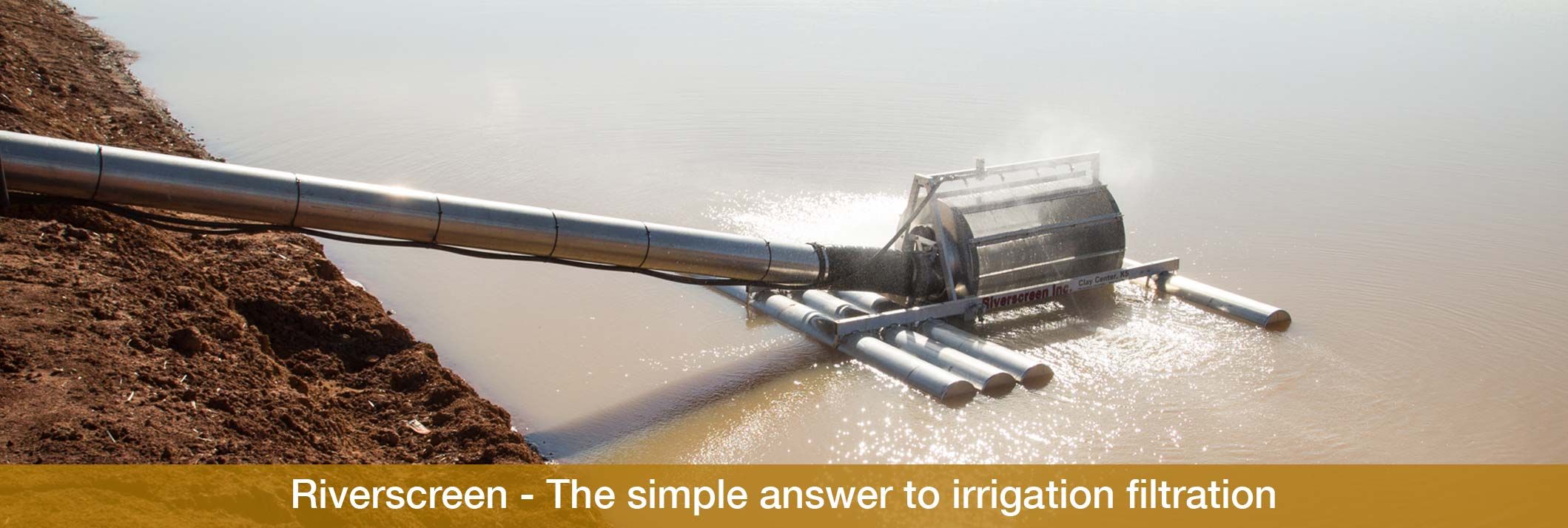 Eagle i farm machinery Riverscreen – The simple answer to irrigation filtration
